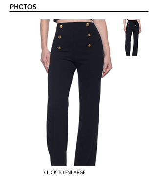 Black High Waist-Wide Leg Pants