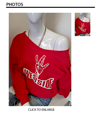 Westside Sweater - Red