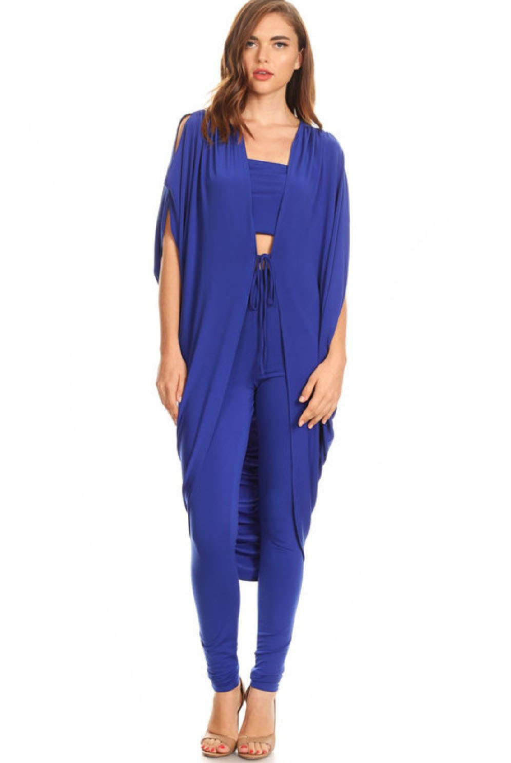 3 Piece Royal Blue Set