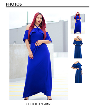 Kendra Royal Blue Dress